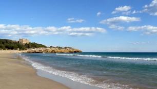 Imatge de la platja
