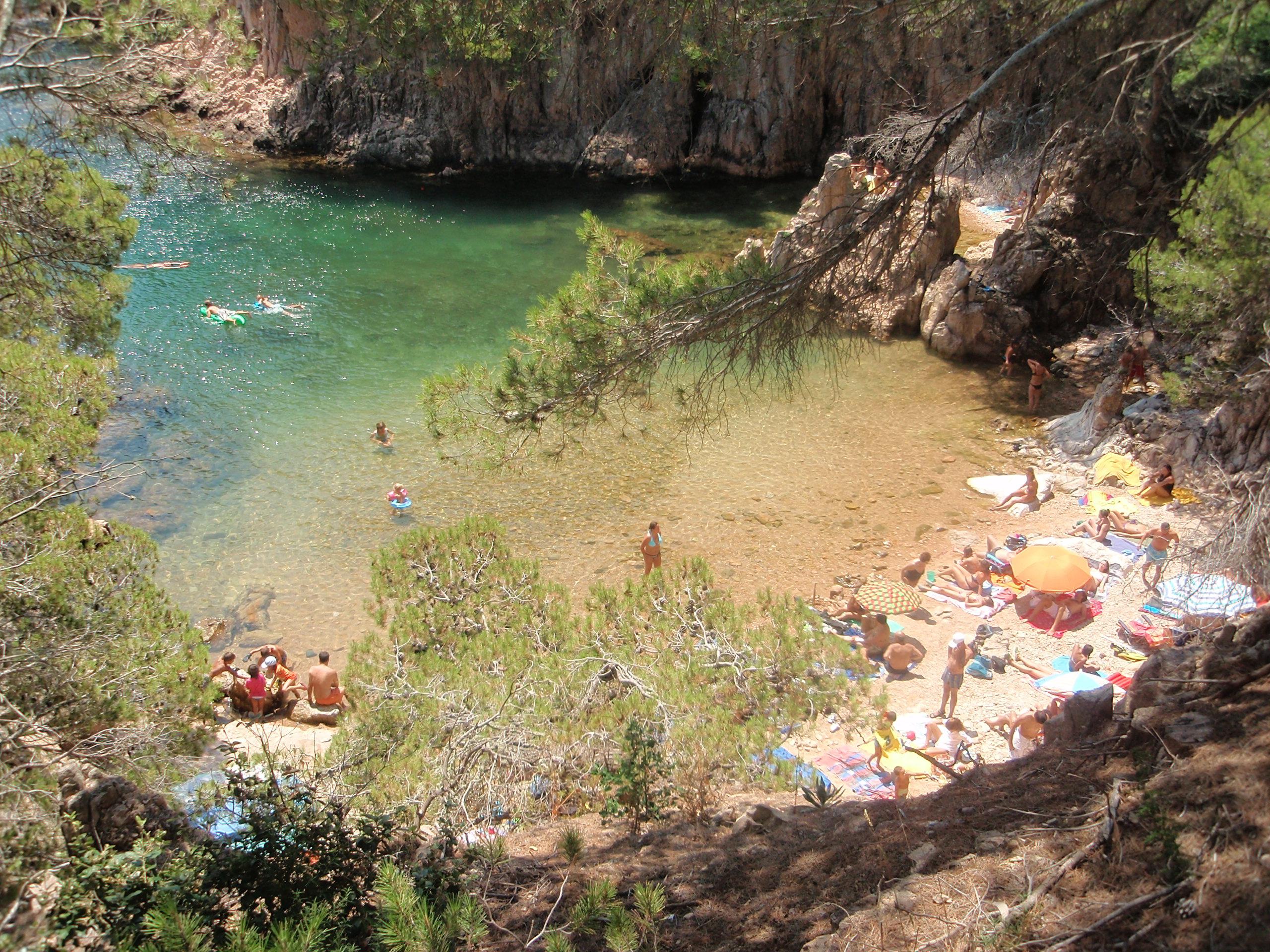 Cala d aigua xeloda tamariu webcam